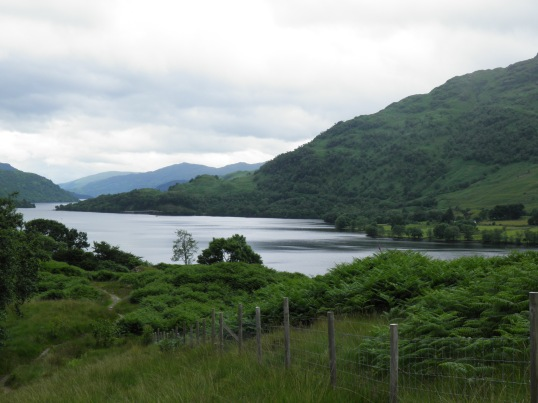Nearing the tip of Loch Lomond