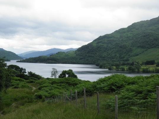 Nearing the tip of Loch Lomond