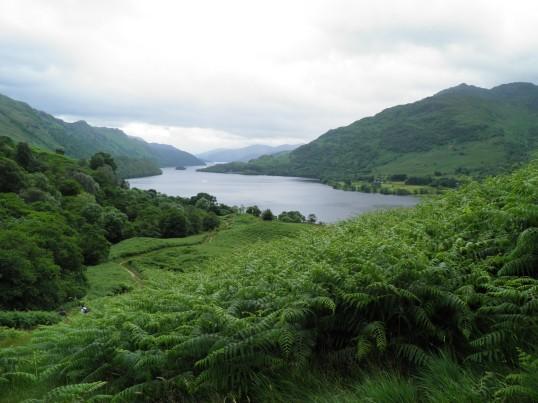 The last sight of Loch Lomond