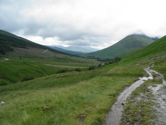 West Highland Way north of Tyndrum