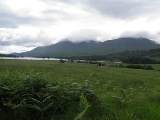 Looking back towards Loch Tulla
