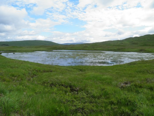 Lochan near the WHW