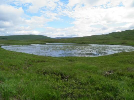 Lochan near the WHW
