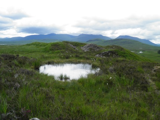 Rugged beauty of Rannoch moor