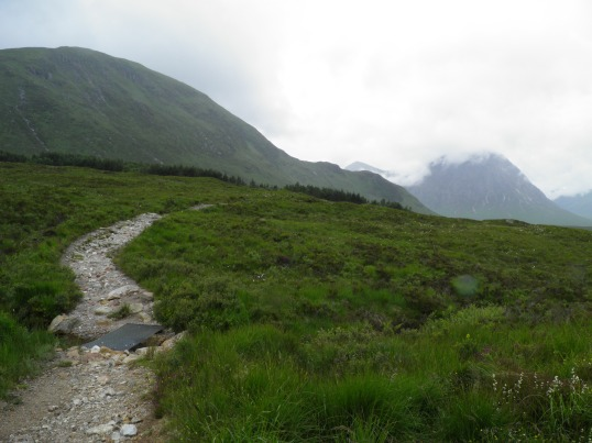 Buachaille Etive Mor comes into view