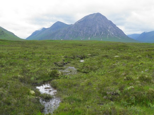Buachaille Etive Mor at the head of Glencoe