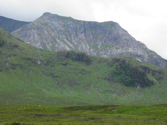 Mountains flanking Glencoe