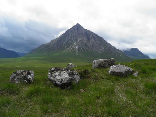 The pyramid of Buachaille Etive Mor