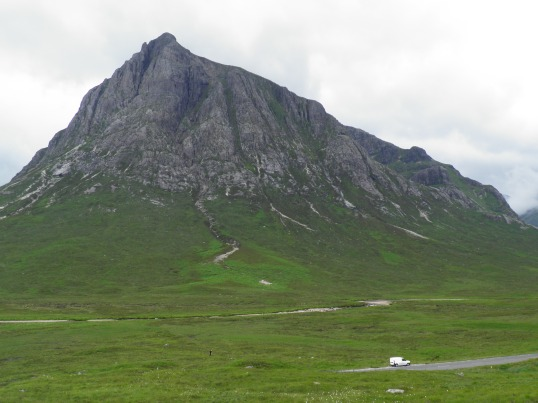 The changing face of Buachaille Etive Mor