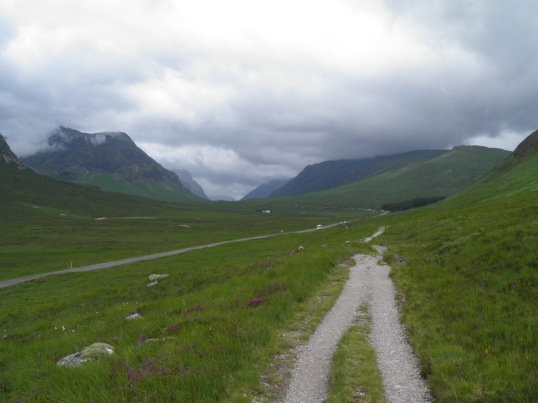 The WHW through Glencoe