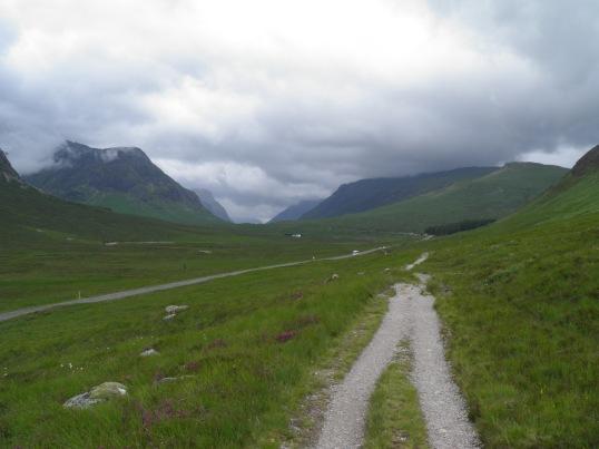 The WHW through Glencoe