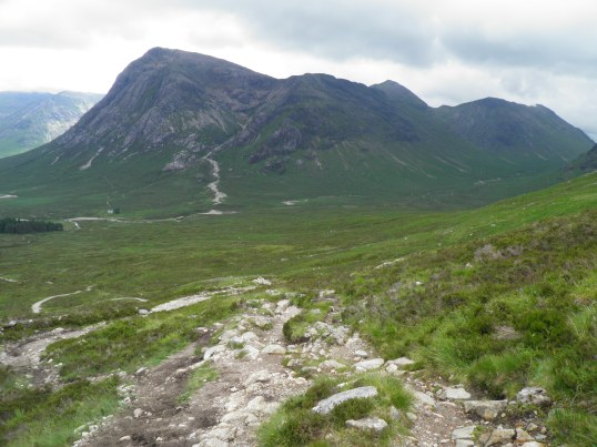 Nearing the top of the Devil's Staircase