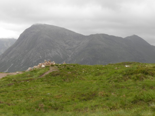 Final view of Buachaille Etive Mor