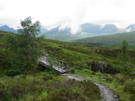 Footbridge in the moor