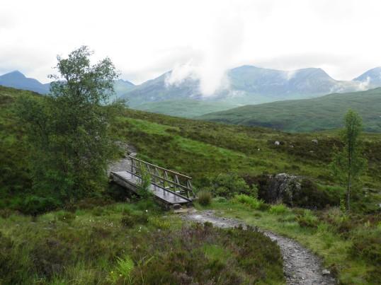 Footbridge in the moor