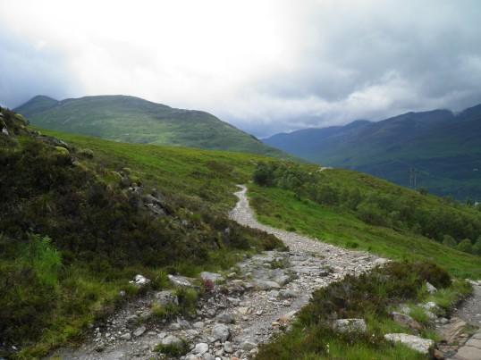 The long road to Kinlochleven