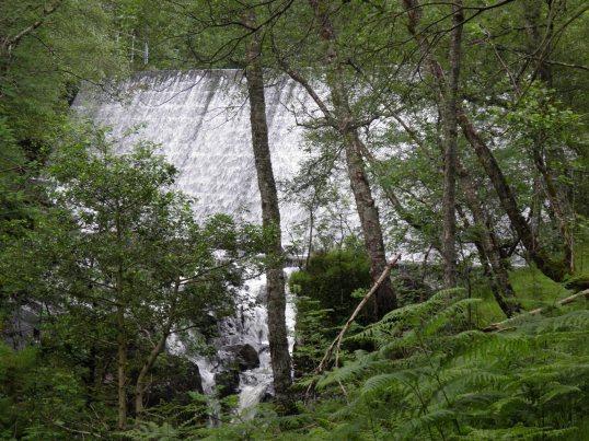 Dam outside Kinlochleven