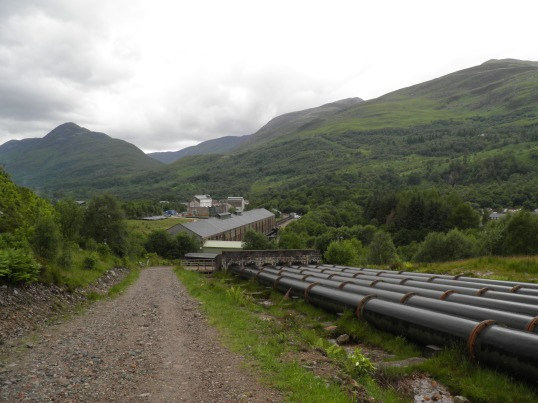 Reaching Kinlochleven