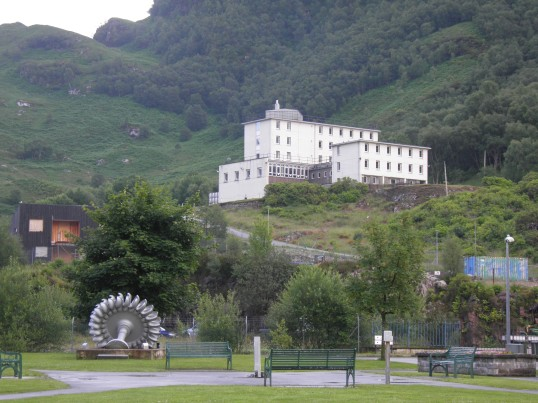 Industrial remnants in Kinlochleven
