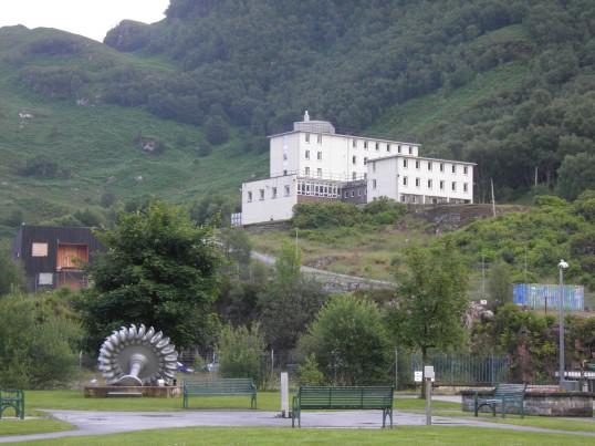 Industrial remnants in Kinlochleven