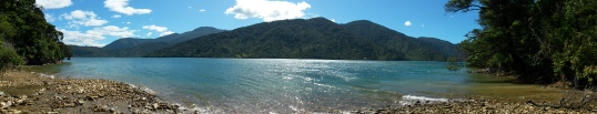 Endeavour Inlet panorama