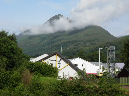 Clouds behind Kinlochleven