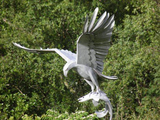 Statue in Kinlochleven