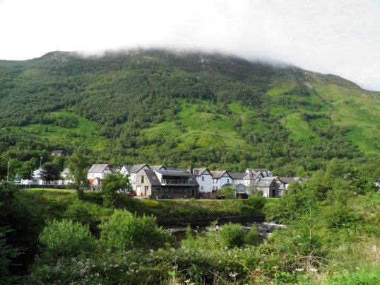 Heading out of Kinlochleven