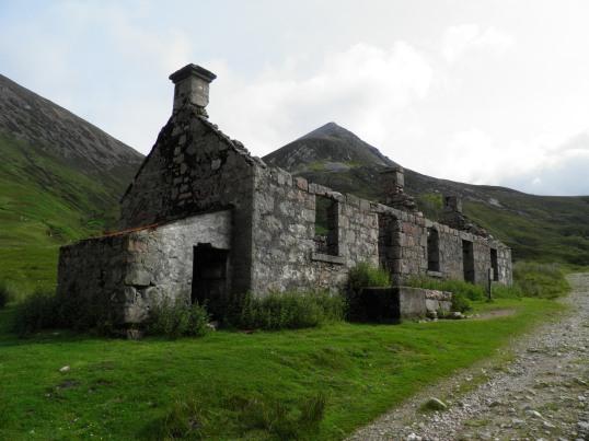 Tigh-na-sleubhaich farmhouse