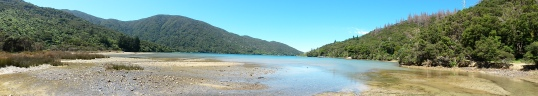 Panorama at Head of Endeavour Inlet