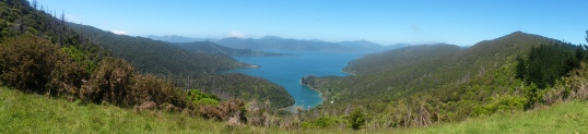 Bay of Many Coves panorama