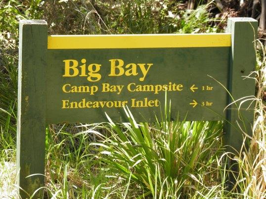 Big Bay sign