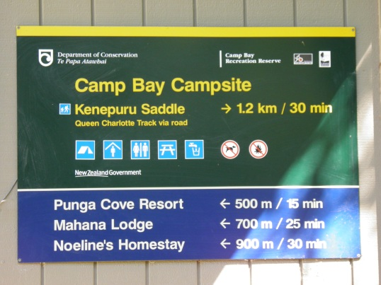 Camp Bay Campsite