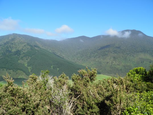 Looking across to Mt McMahon